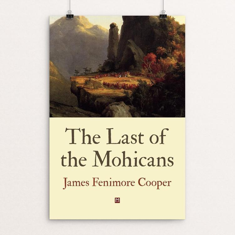 "The Last of the Mohicans by Ed Gaither 12"" by 18"" Print / Unframed Print Recovering the Classics"