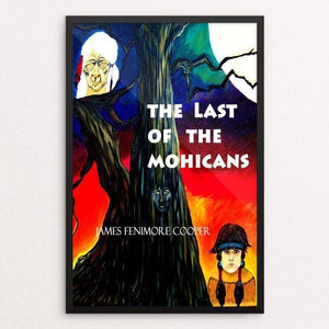 "The Last of the Mohicans by Ramona Mayer 12"" by 18"" Print / Framed Print Recovering the Classics"