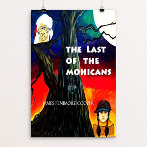 "The Last of the Mohicans by Ramona Mayer 12"" by 18"" Print / Unframed Print Recovering the Classics"