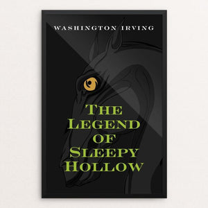 "The Legend of Sleep Hollow by Ed Gaither 12"" by 18"" Print / Framed Print Recovering the Classics"