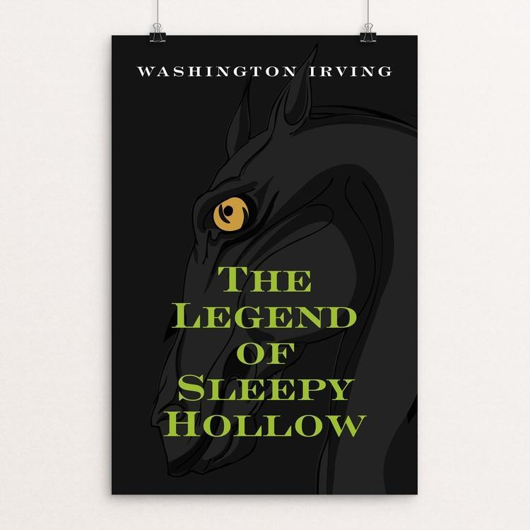 "The Legend of Sleep Hollow by Ed Gaither 12"" by 18"" Print / Unframed Print Recovering the Classics"