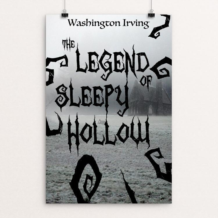 "The Legend of Sleep Hollow by Matthew Wieser 12"" by 18"" Print / Unframed Print Recovering the Classics"
