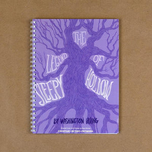 The Legend of Sleep Hollow Spiral Notebook by Mary Shriner Spiral Spiral Notebook Recovering the Classics