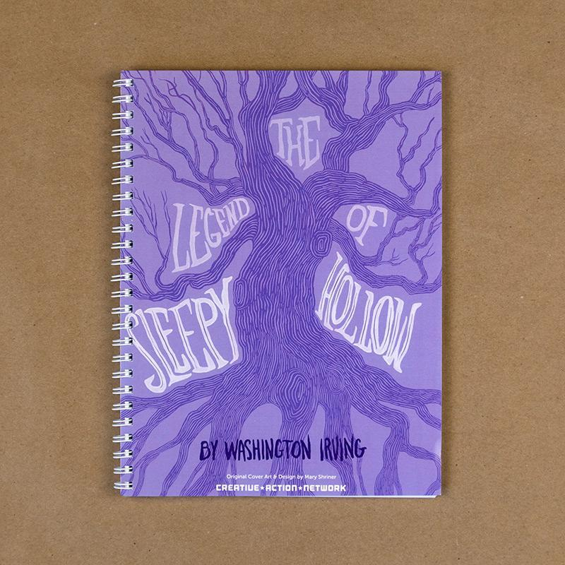 The Legend of Sleepy Hollow Spiral Notebook by Mary Shriner