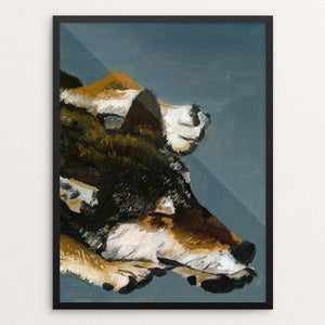 "The Lone Wolf by Stephanie Bottorff 12"" by 16"" Print / Framed Print Join the Pack"