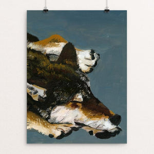 "The Lone Wolf by Stephanie Bottorff 12"" by 16"" Print / Unframed Print Join the Pack"