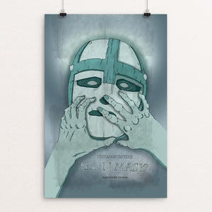 "The Man in the Iron Mask by Katie Wagner 12"" by 18"" Print / Unframed Print Recovering the Classics"