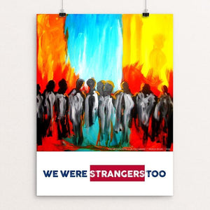 "The Messengers by Yadesa Bojia 12"" by 16"" Print / Unframed Print We Were Strangers Too"