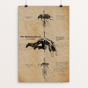 "The Metamorphosis by Wojciech Kasprowicz 12"" by 18"" Print / Unframed Print Recovering the Classics"