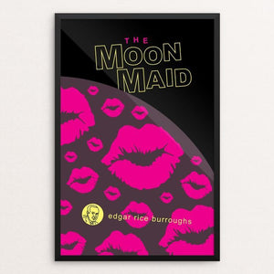 "The Moon Maid by Robert Wallman 12"" by 18"" Print / Framed Print Recovering the Classics"
