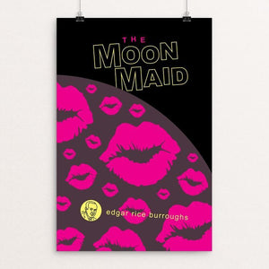 "The Moon Maid by Robert Wallman 12"" by 18"" Print / Unframed Print Recovering the Classics"
