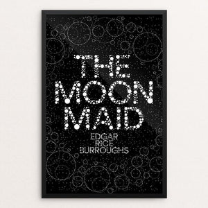 "The Moon Maid by Trevor Messersmith 12"" by 18"" Print / Framed Print Recovering the Classics"