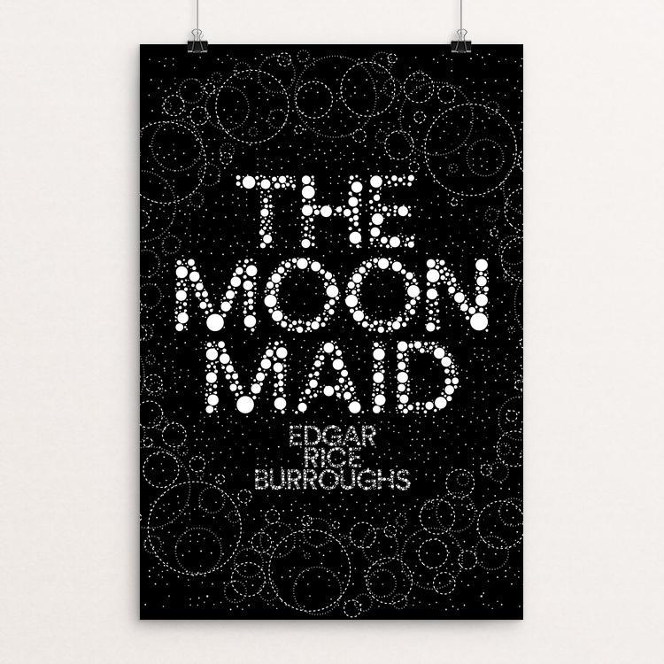 "The Moon Maid by Trevor Messersmith 12"" by 18"" Print / Unframed Print Recovering the Classics"