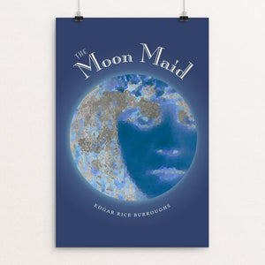 "The Moon Maid by Vivian Chang 12"" by 18"" Print / Unframed Print Recovering the Classics"