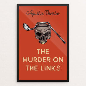 "The Murder on the Links by Ed Gaither 12"" by 18"" Print / Framed Print Recovering the Classics"