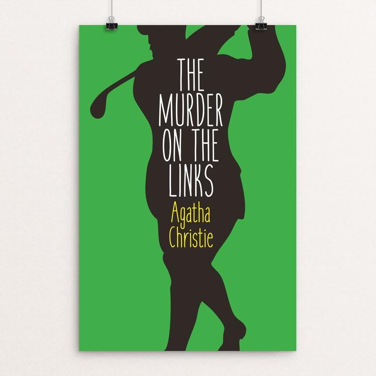 "The Murder on the Links by Ed Gaither 12"" by 18"" Print / Unframed Print Recovering the Classics"