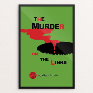 "The Murder on the Links by Robert Wallman 12"" by 18"" Print / Framed Print Recovering the Classics"