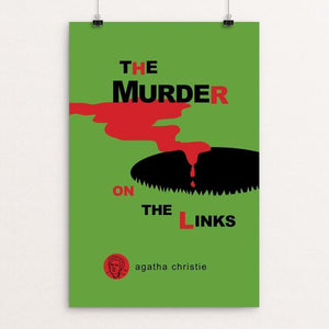 "The Murder on the Links by Robert Wallman 12"" by 18"" Print / Unframed Print Recovering the Classics"