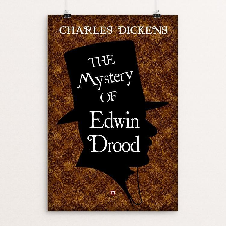 "The Mystery of Edwin Drood by Ed Gaither 12"" by 18"" Print / Unframed Print Recovering the Classics"