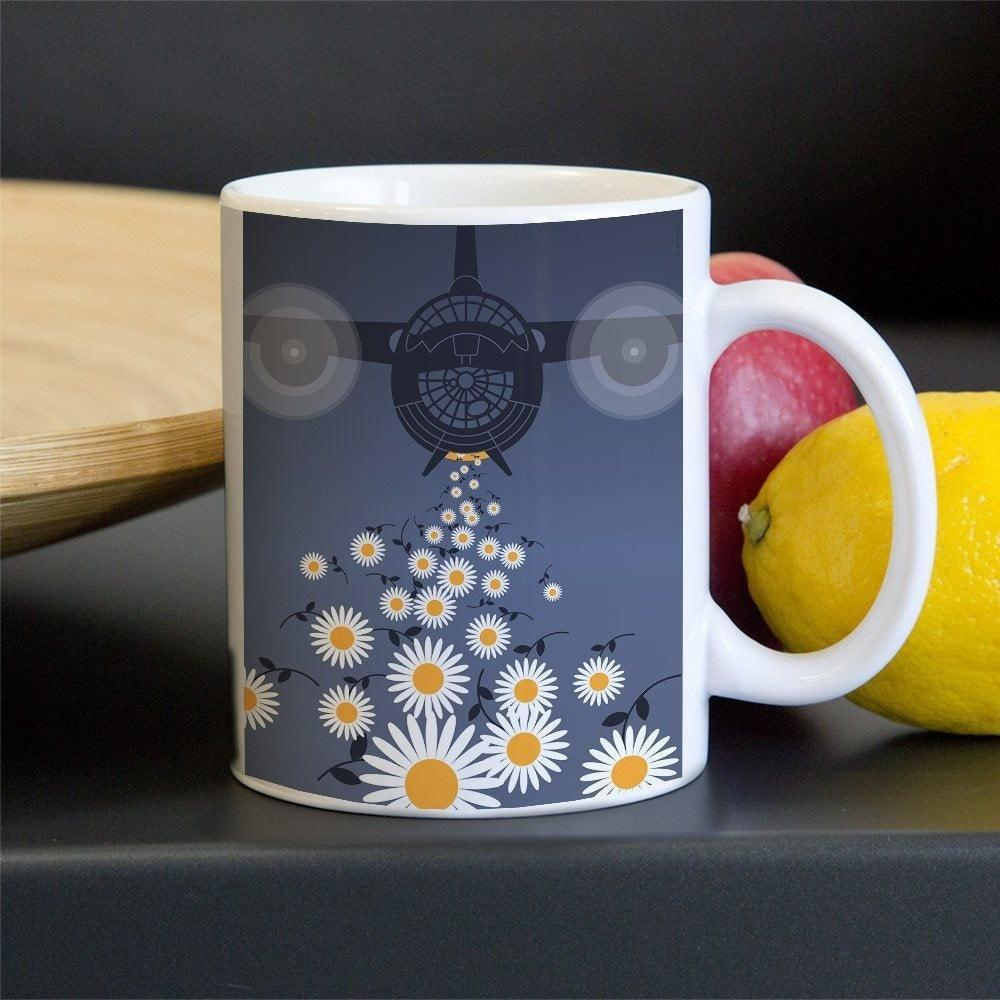 The Peacemaker Mug by Luis Prado