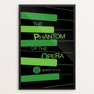 "The Phantom of the Opera by Robert Wallman 12"" by 18"" Print / Framed Print Recovering the Classics"