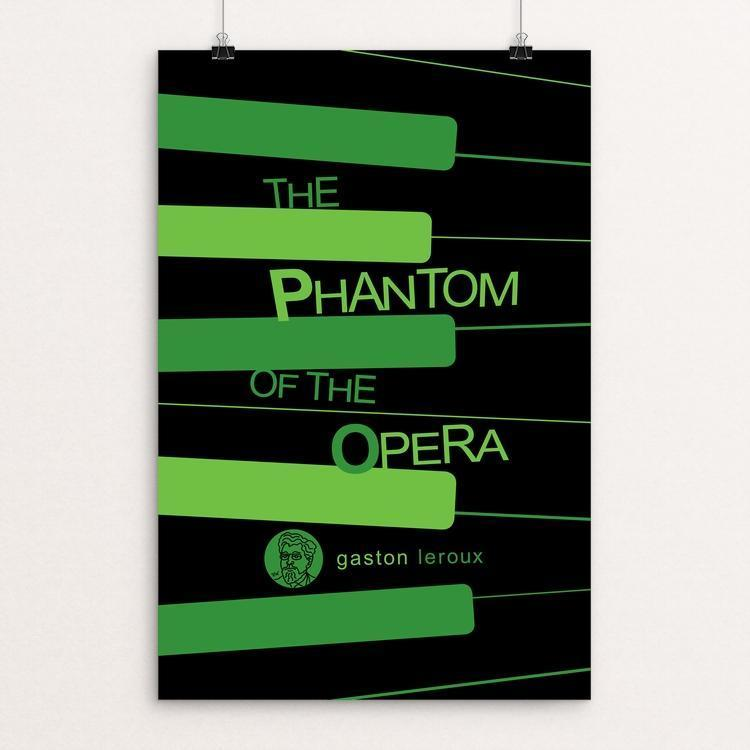 "The Phantom of the Opera by Robert Wallman 12"" by 18"" Print / Unframed Print Recovering the Classics"