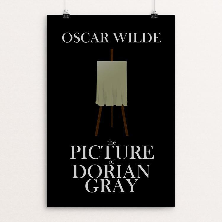 "The Picture of Dorian Gray by Andrew Martin 12"" by 18"" Print / Unframed Print Recovering the Classics"