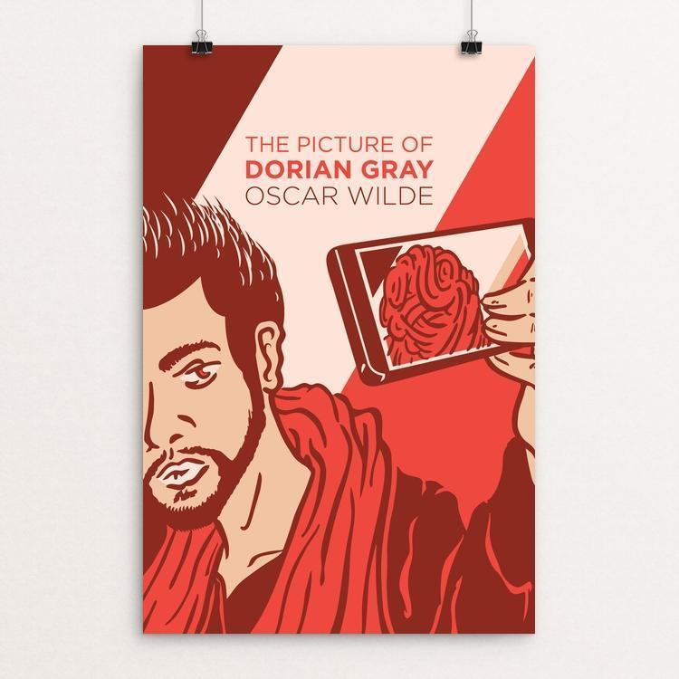 "The Picture of Dorian Gray by Karl Orozco 12"" by 18"" Print / Unframed Print Recovering the Classics"