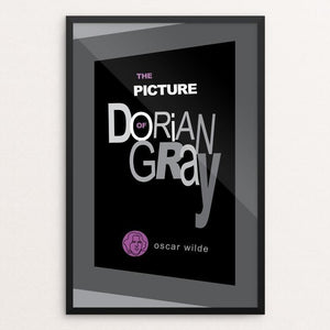 "The Picture of Dorian Gray by Robert Wallman 12"" by 18"" Print / Framed Print Recovering the Classics"