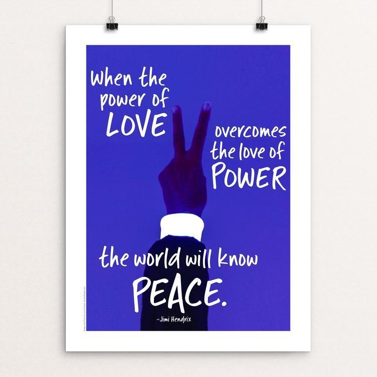 "The Power of Peace by Lynne Smyers 12"" by 16"" Print / Unframed Print Creative Action Network"