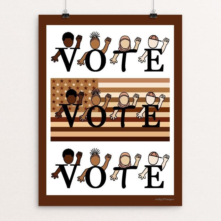 The Power of your Vote by JP Designs