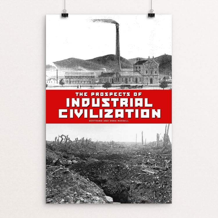 "The Prospects of Industrial Civilization by Vivian Chang 12"" by 18"" Print / Unframed Print Recovering the Classics"