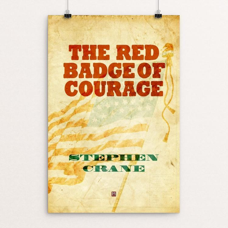 "The Red Badge of Courage by Ed Gaither 12"" by 18"" Print / Unframed Print Recovering the Classics"
