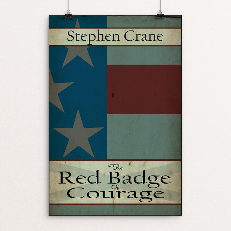 "The Red Badge of Courage by Meredith Watson 12"" by 18"" Print / Unframed Print Recovering the Classics"