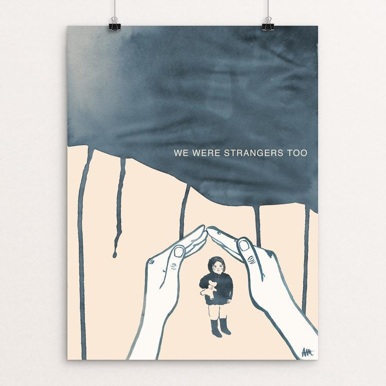 "The Right to Have A Home by Anna Masini 12"" by 16"" Print / Unframed Print We Were Strangers Too"