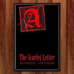 "The Scarlet Letter 2 by Bob Rubin 12"" by 18"" Print / Framed Print Recovering the Classics"