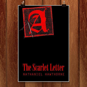 "The Scarlet Letter 2 by Bob Rubin 12"" by 18"" Print / Unframed Print Recovering the Classics"