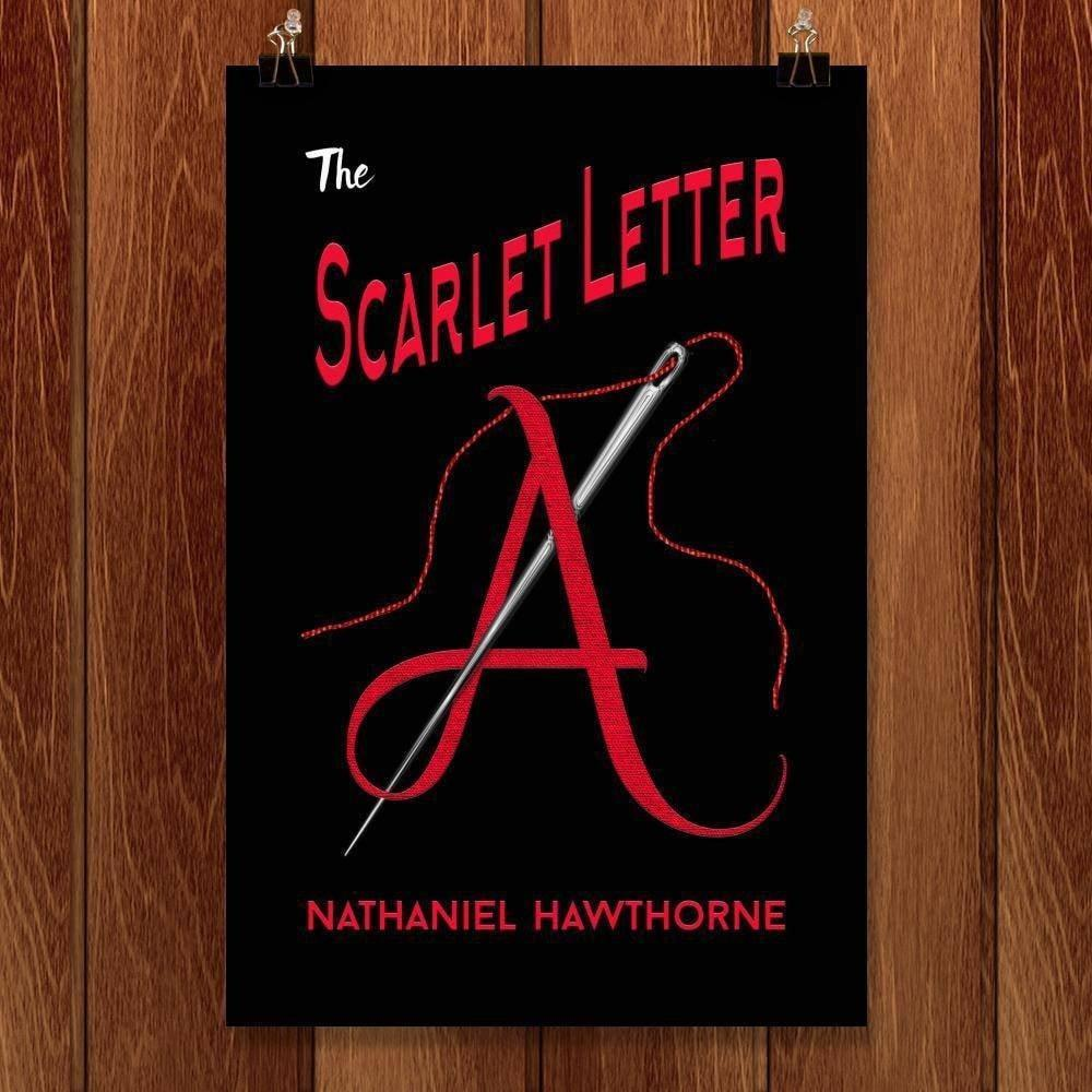 "The Scarlet Letter by C A Speakman 12"" by 18"" Print / Unframed Print Recovering the Classics"