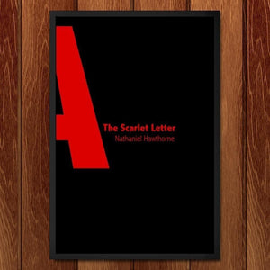 "The Scarlet Letter by Nicholas Hagar 12"" by 18"" Print / Framed Print Recovering the Classics"