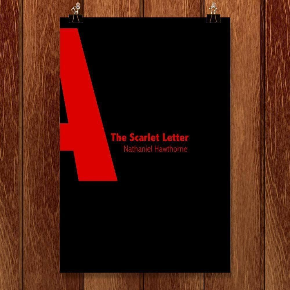 "The Scarlet Letter by Nicholas Hagar 12"" by 18"" Print / Unframed Print Recovering the Classics"