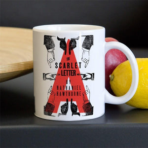 The Scarlet Letter Mug by Mr. Furious 11oz Mug Recovering the Classics