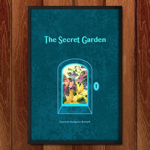 "The Secret Garden by J. Beth Jepson 12"" by 18"" Print / Framed Print Recovering the Classics"