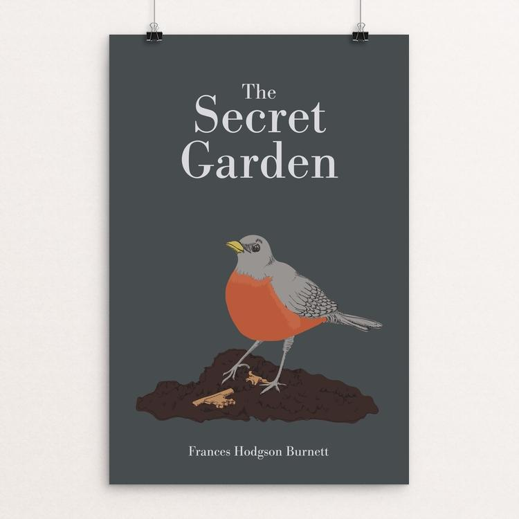 "The Secret Garden by Marta Nelson 12"" by 18"" Print / Unframed Print Recovering the Classics"