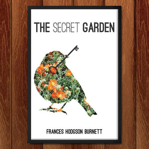 "The Secret Garden by McKenna Pahl 12"" by 18"" Print / Framed Print Recovering the Classics"