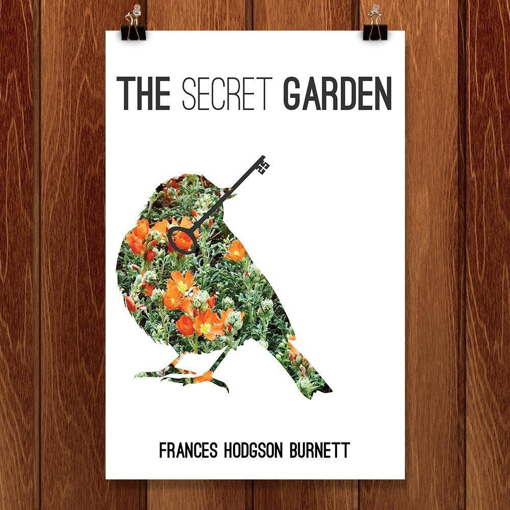 "The Secret Garden by McKenna Pahl 12"" by 18"" Print / Unframed Print Recovering the Classics"