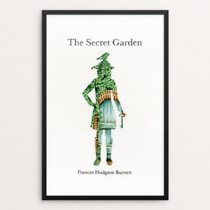 "The Secret Garden by Olivia Olsen 12"" by 18"" Print / Framed Print Recovering the Classics"