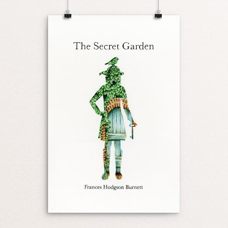 "The Secret Garden by Olivia Olsen 12"" by 18"" Print / Unframed Print Recovering the Classics"