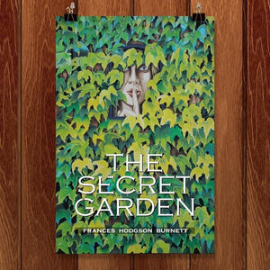 "The Secret Garden by Patrushka Mitchell 12"" by 18"" Print / Unframed Print Recovering the Classics"