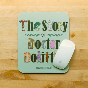 The Story of Doctor Dolittle Mousepad by Asako Turina 7.79x9.25 inch Mousepad Recovering the Classics