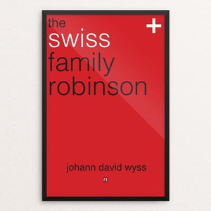 "The Swiss Family Robinson by Ed Gaither 12"" by 18"" Print / Framed Print Recovering the Classics"